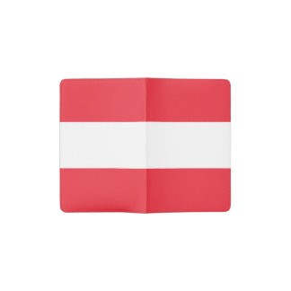 Patriotic Austrian Flag Pocket Moleskine Notebook