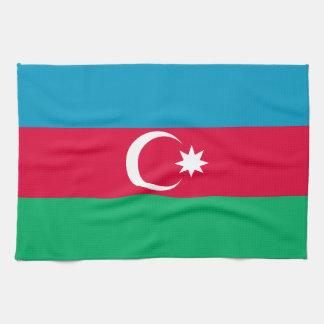 Patriotic Azerbaijan Flag Kitchen Towel