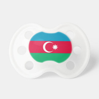 Patriotic Azerbaijan Flag Pacifier