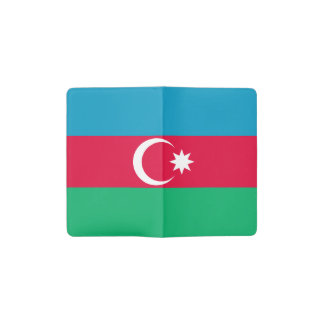 Patriotic Azerbaijan Flag Pocket Moleskine Notebook