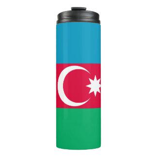 Patriotic Azerbaijan Flag Thermal Tumbler