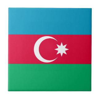 Patriotic Azerbaijan Flag Tile