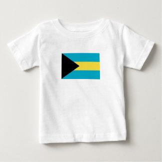 Patriotic Bahamian Flag Baby T-Shirt