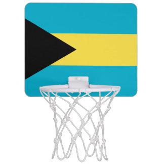 Patriotic Bahamian Flag Mini Basketball Hoop