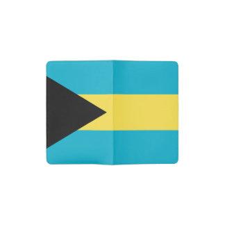 Patriotic Bahamian Flag Pocket Moleskine Notebook