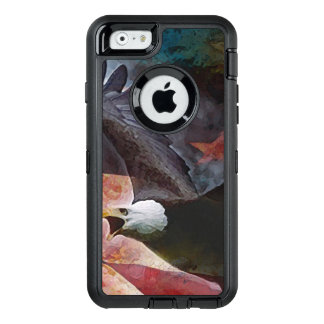 Patriotic Bald Eagle iPhone 6/6s Defender Case