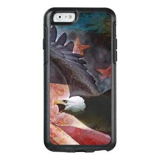 Patriotic Bald Eagle Otter Box iPhone case
