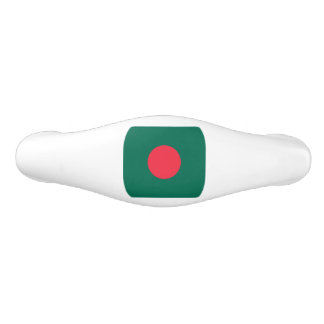 Patriotic Bangladeshi Flag Ceramic Drawer Pull