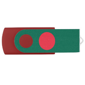Patriotic Bangladeshi Flag USB Flash Drive