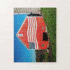 Patriotic Barn Jigsaw Puzzle