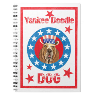 Patriotic Basset Notebooks