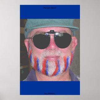 Patriotic Beard Poster