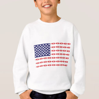 Patriotic Beer Bottle Flag Sweatshirt