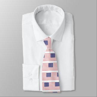 Patriotic Beer Bottles Tie