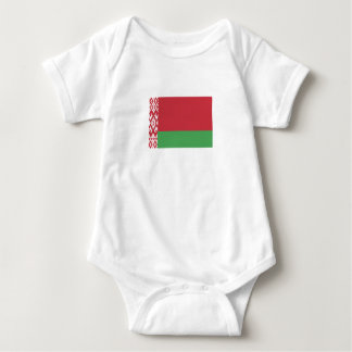Patriotic Belarusian Flag Baby Bodysuit