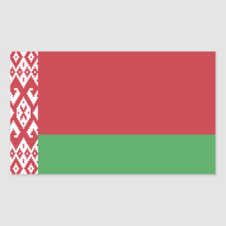 Patriotic Belarusian Flag Sticker