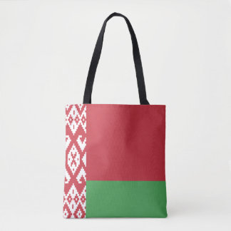 Patriotic Belarusian Flag Tote Bag