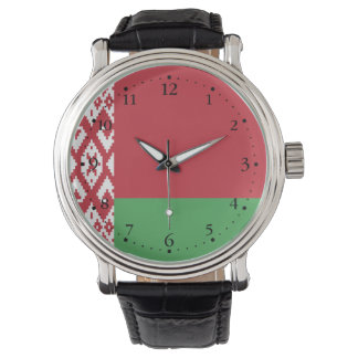 Patriotic Belarusian Flag Watch