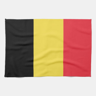 Patriotic Belgian Flag Kitchen Towel