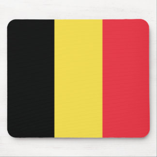 Patriotic Belgian Flag Mouse Pad