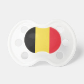 Patriotic Belgian Flag Pacifier