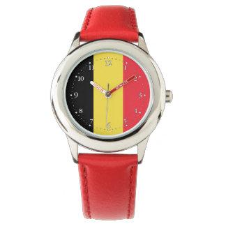 Patriotic Belgian Flag Watch