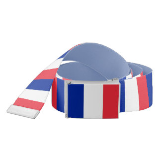 Patriotic Belt with flag of France