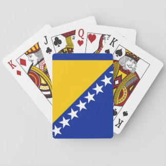 Patriotic Bosnia Herzegovina Flag Playing Cards