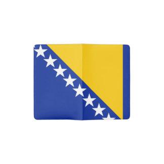 Patriotic Bosnia Herzegovina Flag Pocket Moleskine Notebook