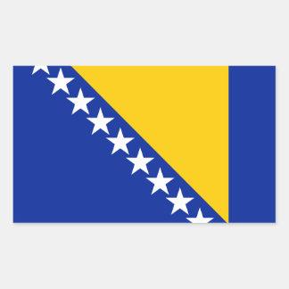 Patriotic Bosnia Herzegovina Flag Sticker