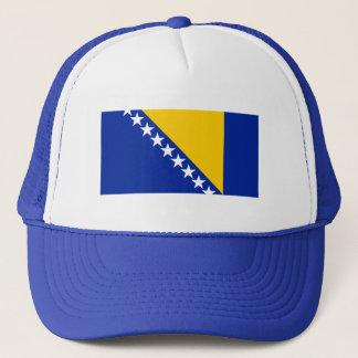 Patriotic Bosnia Herzegovina Flag Trucker Hat
