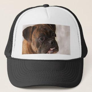 Patriotic Boxer Dog cap