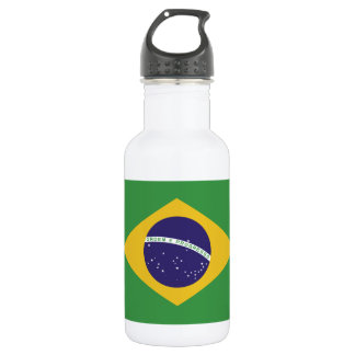 Patriotic Brazil Flag 532 Ml Water Bottle