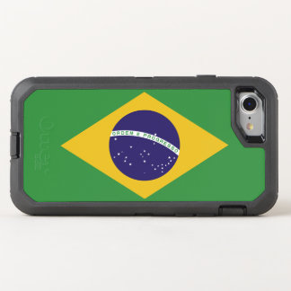 Patriotic Brazil Flag OtterBox Defender iPhone 8/7 Case