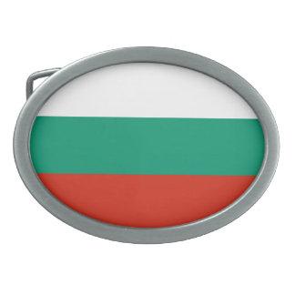 Patriotic Bulgarian Flag Belt Buckle