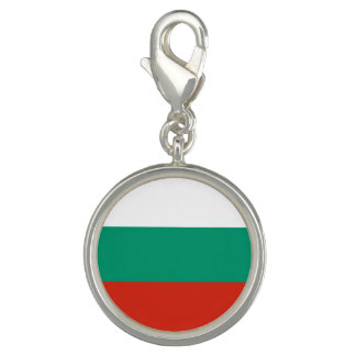 Patriotic Bulgarian Flag Charm