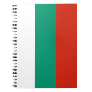 Patriotic Bulgarian Flag Notebooks