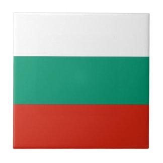 Patriotic Bulgarian Flag Tile