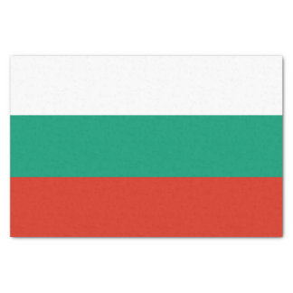 Patriotic Bulgarian Flag Tissue Paper