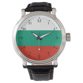 Patriotic Bulgarian Flag Watch