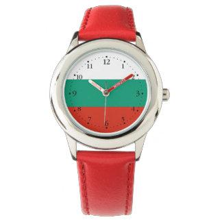 Patriotic Bulgarian Flag Wristwatches