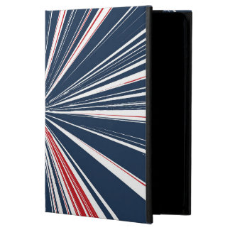 Patriotic Burst Abstract iPad Air Cases