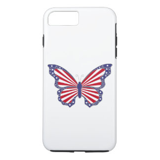 Patriotic Butterfly iPhone 7 Case