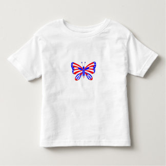 Patriotic Butterfly Toddler T-shirt