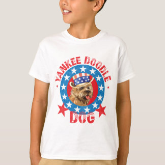Patriotic Cairn Terrier T-Shirt