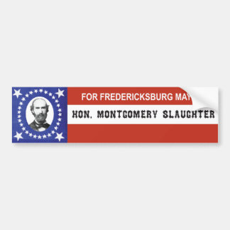 Patriotic Campaign Sticker Bumper Sticker