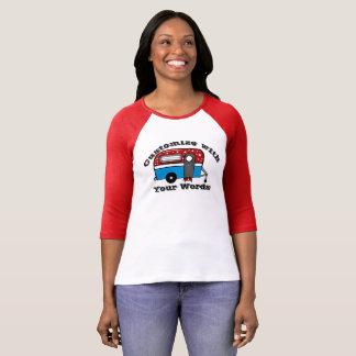 Patriotic Camper Trailer Shirt CUSTOMIZE IT