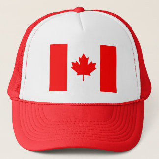 Patriotic Canadian Flag Trucker Hat