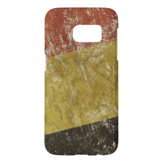 Patriotic case with flag of Belgium