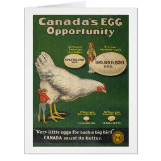 Patriotic Chicken Farm Card